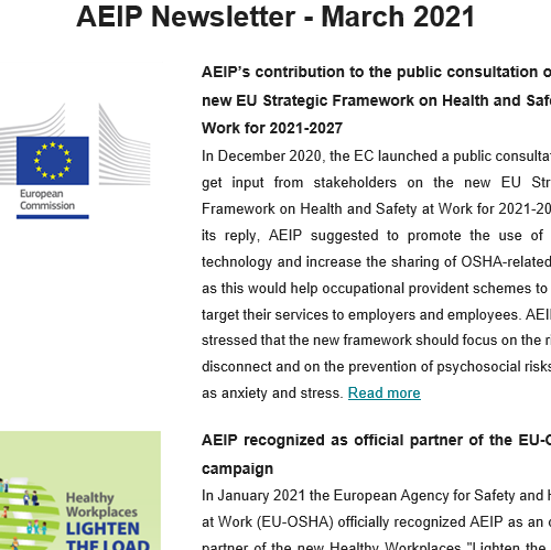 newsletter march 2021